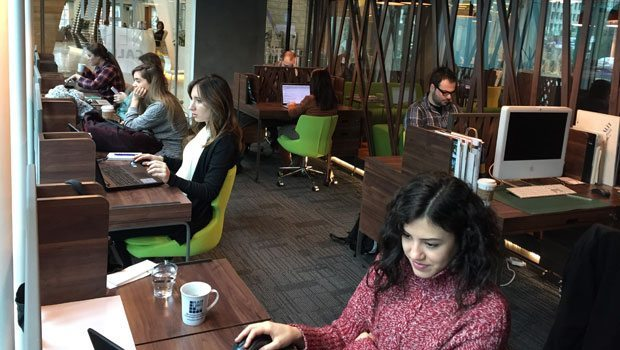 hazır ofis co-working space