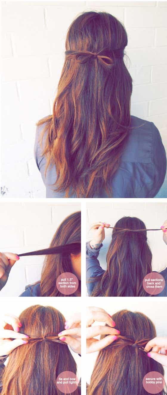 işe giderken yapılacak kolay saç modelleri