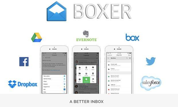boxer mail uygulaması