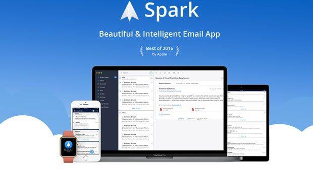 spark email programı
