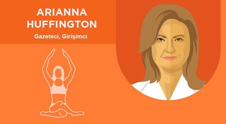 Arianna Huffington sabah rutini