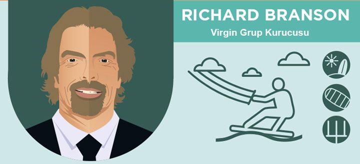 Richard Branson sabah rutini