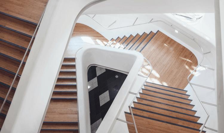 Ofislerde Merdiven Tasarımları
