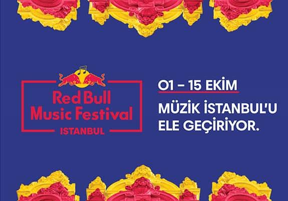 Ekim Ayı Sanat Etkinlikleri - İstanbul Sanat Etkinlikleri - Red Bull Müzik Festivali
