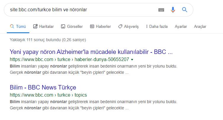 Google'da Arama Yapmanın İncelikleri